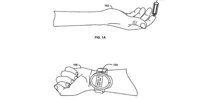 Illustration from Google's patent (USPTO).