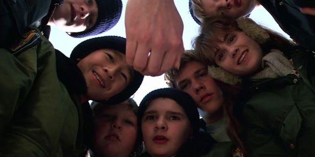 "Scene from ""The Goonies."""