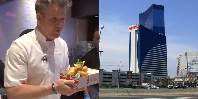 Gordon Ramsay Steak will open in Harrah's Resort Atlantic City over Memorial Day weekend.