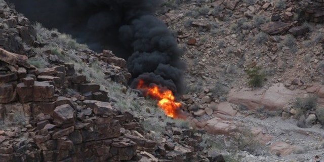 Three people were killed in the fiery helicopter crash.