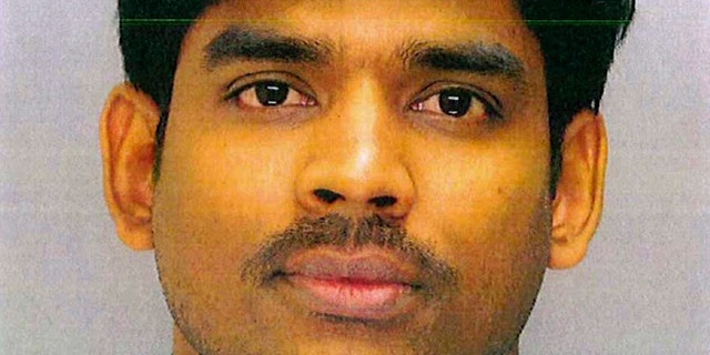 Raghunandan Yandamuri, 26, is shown in this undated photo provided by the Upper Merion Township, Pa., Police Department.