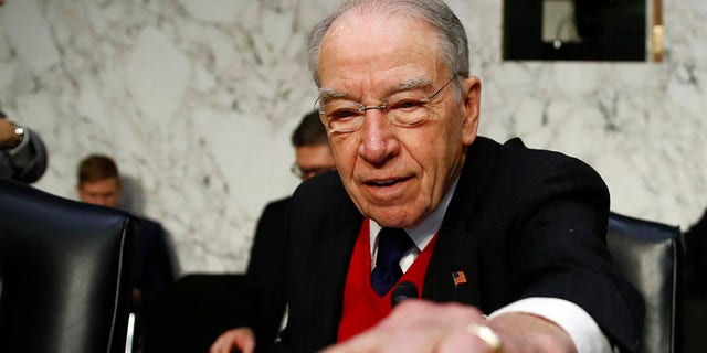 Sen. Chuck Grassley is digging deeper into Peter Strzok and Lisa Page's text messages.