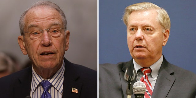 Sens. Chuck Grassley and Lindsey Graham backed up Rep. Devin Nunes on some of his Trump dossier claims.