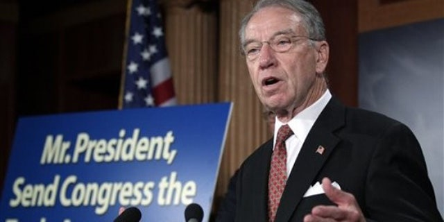Wants answers: Sen. Charles Grassley fired off a letter to DEA brass.