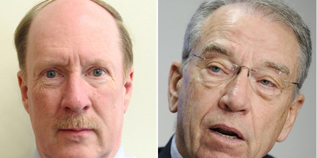 Merry, (l.), fights the problem on thestreets of Huntington, while Grassley, (r.), takes aim from Washington.