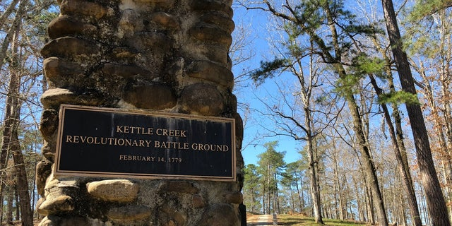 """The Kettle Creek Battlefield Association announced the park's expansion on top of """"War Hill"""" in Washington, GA."""