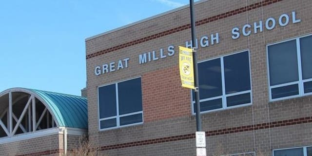 A shooting at Great Mills High School in Maryland was stopped Tuesday, police said, after a school resource officer engaged the gunman.