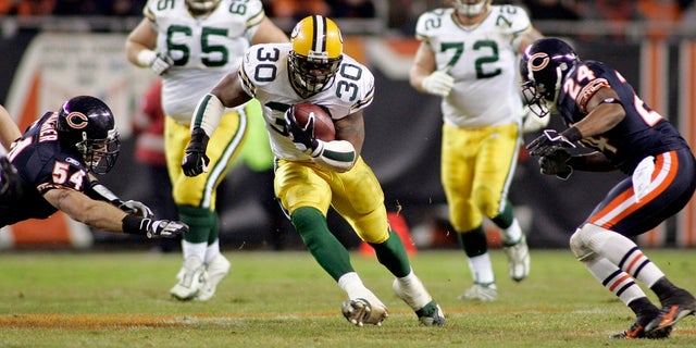 Ahman Green was a former running for the Green Bay Packers. He was inducted into the team's hall of fame in 2014.