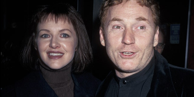 "Gretchen Bonaduce, left, and Danny Bonaduce attend the New York premiere of ""Primary Colors"" on March 16, 1998 at Ziegfeld Theatre in New York City."