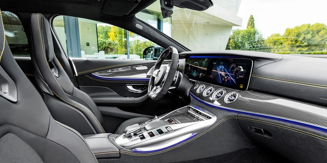 """The cabin can be filled with a """"sporty scent"""" from a built-in air fragrancing system."""