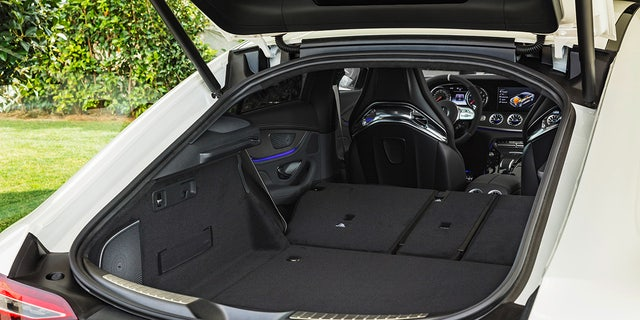 The liftback design adds functionality to the high performance 4-door.