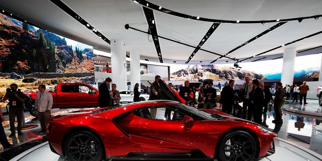Ford made only 500 Ford GT vehicles.