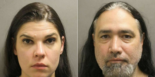 John Guerrero, 48, and Virginia Yearnd, 39, were arrested after they left their daughter at home for days to attend a rock concert.