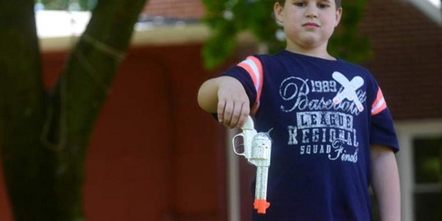 Darin Simak, was suspended from Martin School in New Kensington, Pa. His parents say he did the right thing when he informed his teacher about the toy gun.