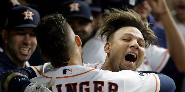 Yuli Gurriel made an offensive gesture toward Dodgers pitcher Yu Darvish following his second-inning home run in Friday night's game.