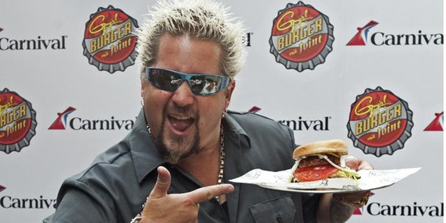 """Food Network star Guy Fieri has spin a domicile name for his """"Diners, Drive-Ins and Dives"""" uncover (AKA Triple D), that has him furloughed all over a nation finding internal renouned greasy spoons."""