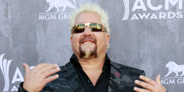 "Fieri said he was proud to have served ""millions"" at his New York outpost."