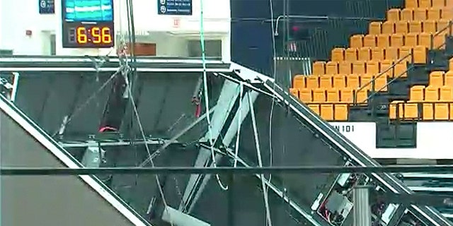 The crash happened at the Charles E. Smith Center in Washington D.C., the site in which numerous George Washington University athletic teams compete, Fox 5 DC reported.