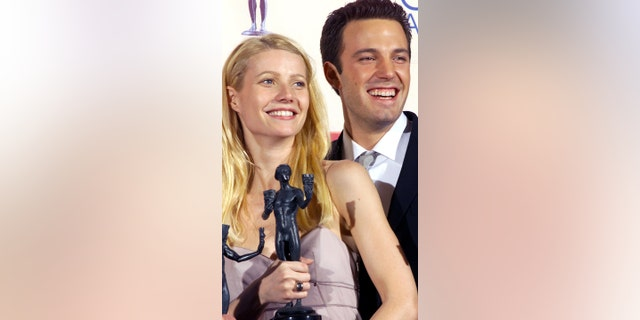 The actress said that she learned a lot from her relationship with Affleck. Here, the two pose at the 1999 SAG Awards.
