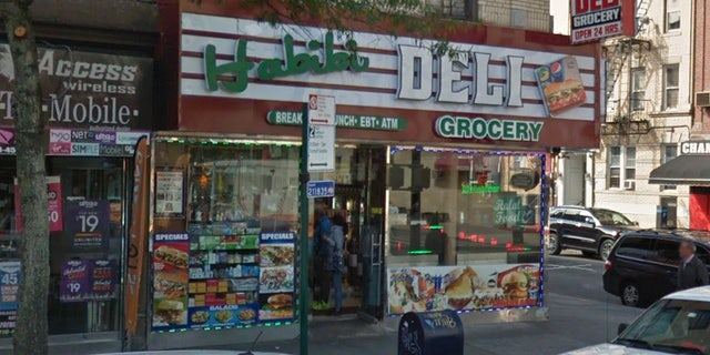 The attempted robbery happened Monday in New York City's Bronx borough.