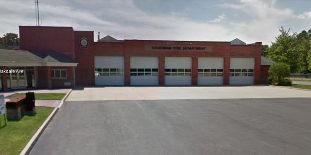 Police said the brawl involved 40 to 50 people including members of the Hagerman Fire Department.