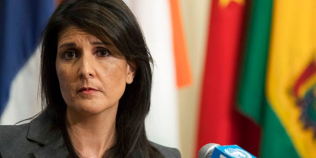 Nikki Haley is reportedly calling for a tough line of UNRWA funding.