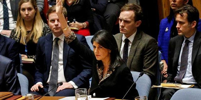 U.S. Ambassador to the UN Nikki Haley