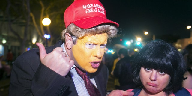 Some schools are warning students that Donald Trump costumes could be considered offensive.