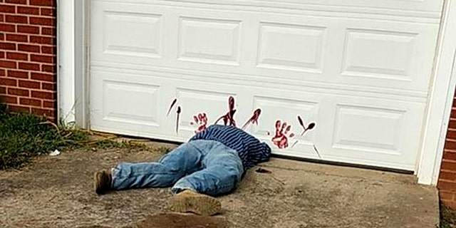 Police in Greene County, Tenn., also needed to warn the public not to call to report a gruesome decoration back in 2017.