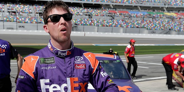 Hamlin says he was joking when he said 70 percent of NASCAR drivers use Adderall to help their focus during races.
