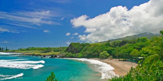 Hamoa Beach. Hana.Maui, Hawaii