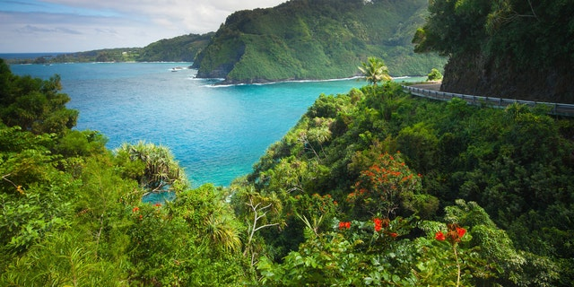 This 64-mile Hawaiian highway can take 2.5 hours to drive due to its winding roads and one-lane bridges.