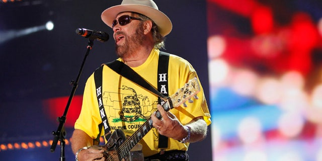June 7, 2012. Hank Williams Jr. performs during the Country Music Association  Music Festival in Nashville, Tennessee.