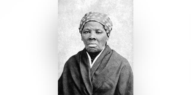 Harriet Tubman, pictured circa 1885.