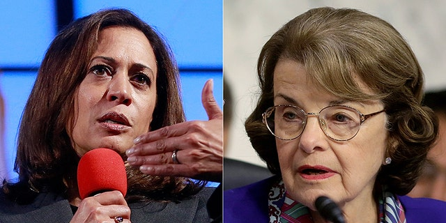 Sens. Kamala Harris and Dianne Feinstein would have Democratic company if the long-shot bid to split up California actually succeeded.