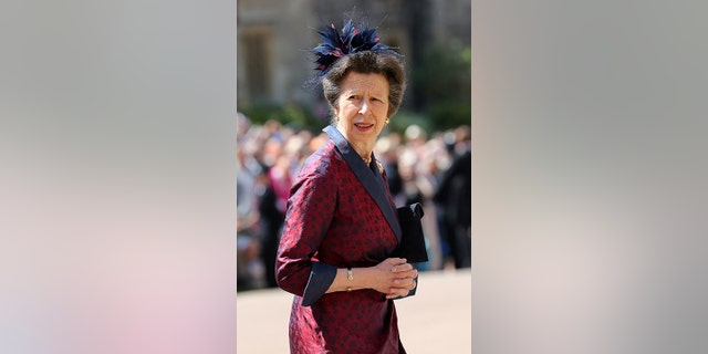 The Princess Royal arrives at St. George's Chapel at Windsor Castle for the wedding of Meghan Markle and Prince Harry in Windsor, England, May 19, 2018.