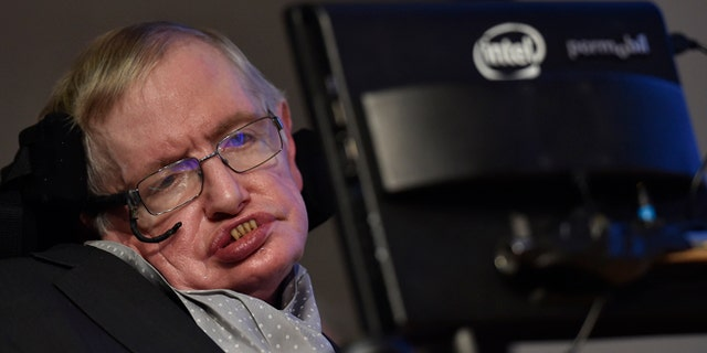 British scientist and theoretical physicist Stephen Hawking was hospitalized in Rome