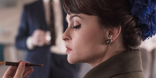 "Helena Bonham Carter as Princess Margaret in Season 3 of Netflix series ""The Crown."""