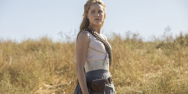 """Evan Rachel Wood as Dolores in season 2 of """"Westworld."""""""