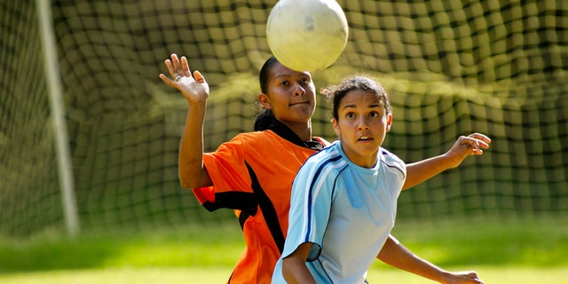 In high school sports played by both girls and boys, girls are about 50 percent more likely to get a concussion, according to a recent U.S. study.