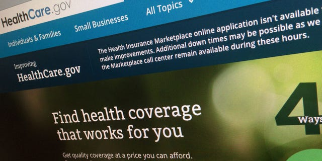HealthCare.gov website.