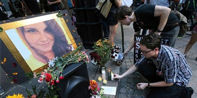 Heather Heyer, 32, was killed after a car rammed into a crowd of counter-protesters on Saturday, Aug. 12.