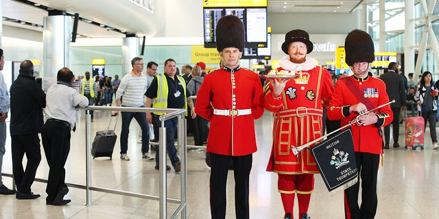 You can celebrate the royal wedding at London's Heathrow Airport, even without an invitation.