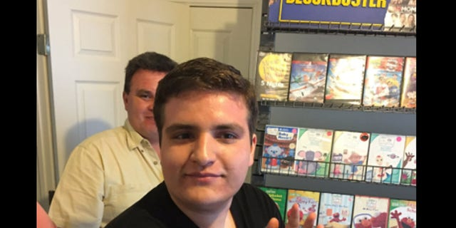 Hector's parents gave him his very own Blockbuster after his favorite store closed.