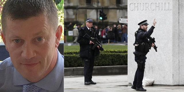 Police Officer Keith Palmer is being hailed as a hero after being stabbed to death trying to stop a terrorist.