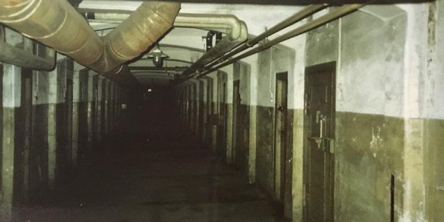 The interior of Spandau prison in Berlin. (Henry Aldridge & Son)