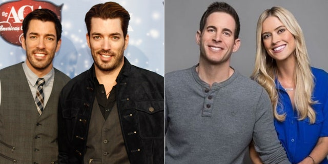 """The """"Property Brothers"""" and the stars of """"Flip or Flop."""""""