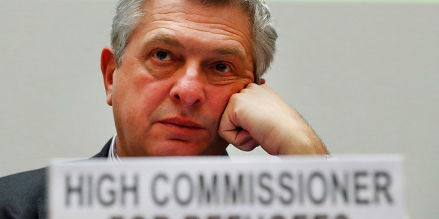 Filippo Grandi, UN's High Commissioner for Refugees. According to UNHCR, the tide of people forced out of their countries by war, famine or natural disaster swelled to an estimated 22.5 million in 2016, from 21.3 million the previous year.