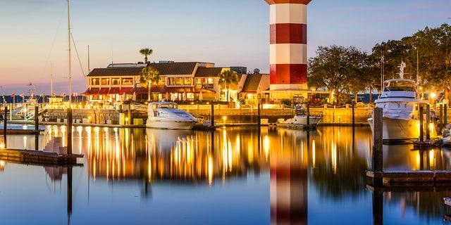 Hilton Head Island offers beaches and great restaurants.