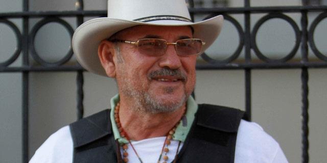 Hipolito Mora, leader of a self-defense movement.